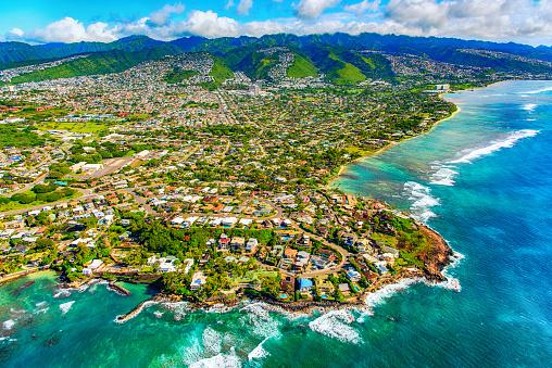 Oahu「Suburban Honolulu From Above」:スマホ壁紙(17)