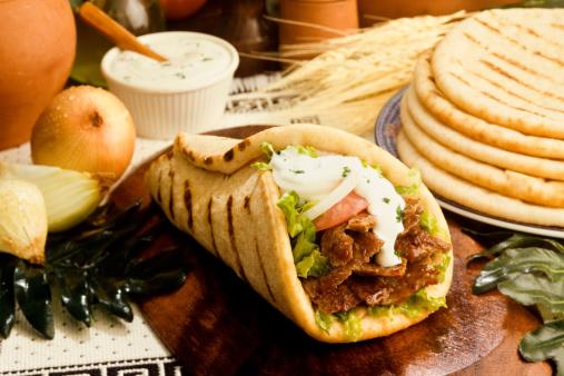 Greek Food「gyros pita」:スマホ壁紙(17)