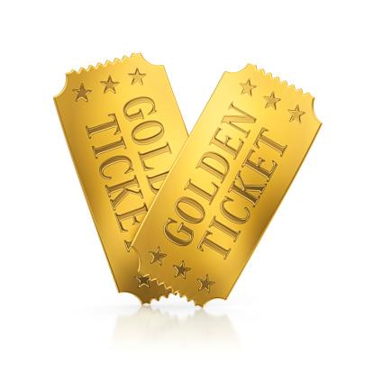 Gold「golden tickets」:スマホ壁紙(2)