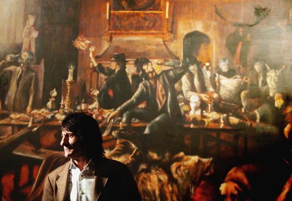 絵「Ronnie Wood's High Tea - Private View」:写真・画像(9)[壁紙.com]