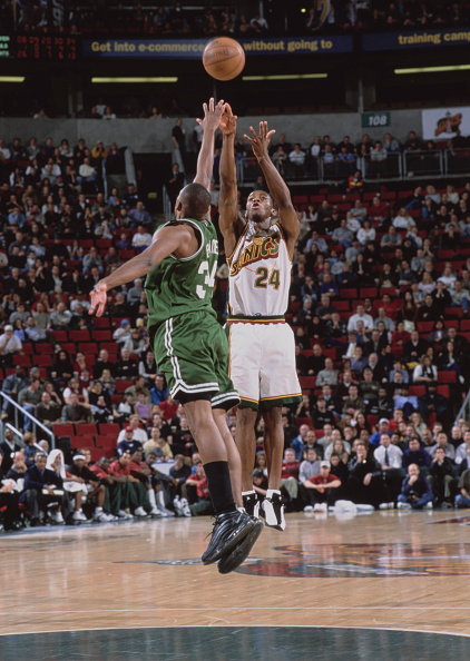 Paul Pierce「Boston Celtics vs Seattle SuperSonics」:写真・画像(8)[壁紙.com]