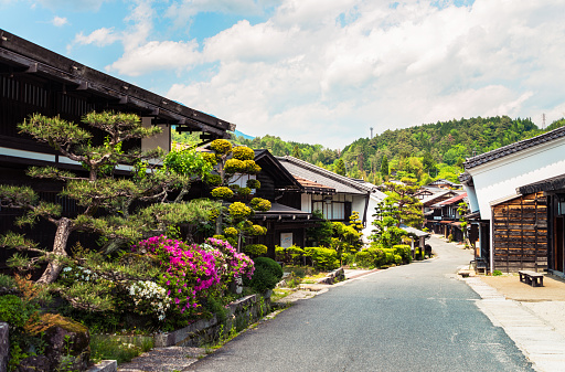 The Past「Tsumago - an ancient heritage town in Japan」:スマホ壁紙(15)