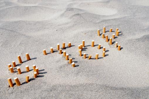 Letter S「stop smoking」:スマホ壁紙(13)