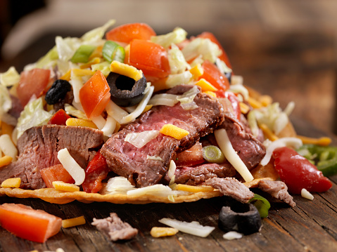 Sour Cream「Steak and Cheese Tostada」:スマホ壁紙(3)