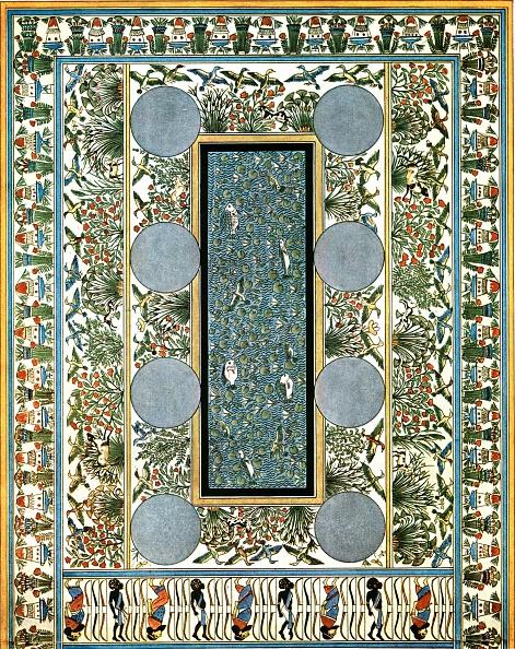 Animal Wildlife「Floor Painting In A Palace At Tell El-Amarna」:写真・画像(15)[壁紙.com]