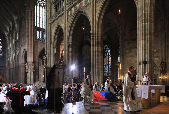 St Vitus's Cathedral「State Funeral Of Vaclav Havel」:写真・画像(15)[壁紙.com]