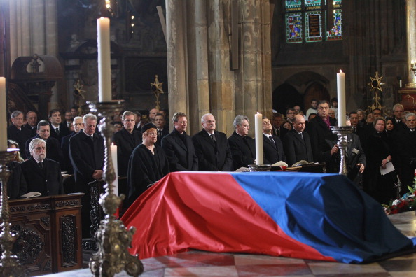 St Vitus's Cathedral「State Funeral Of Vaclav Havel」:写真・画像(9)[壁紙.com]