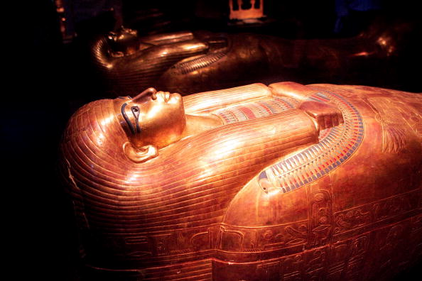 Coffin「King Tut Exhibit Opens At The Field Museum」:写真・画像(16)[壁紙.com]