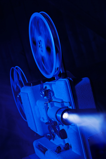 Film Screening「8mm film projector running」:スマホ壁紙(14)