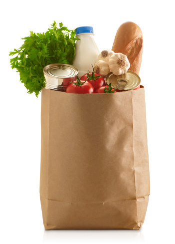 Food Staple「Paper Grocery Bag」:スマホ壁紙(1)