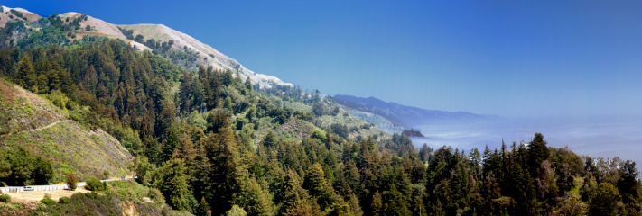 Big Sur「Big Sur coastline panarama, California」:スマホ壁紙(11)