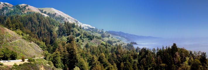 Big Sur「Big Sur coastline panarama, California」:スマホ壁紙(15)