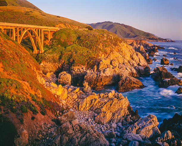 Big Sur Coastline, California  (P):スマホ壁紙(壁紙.com)