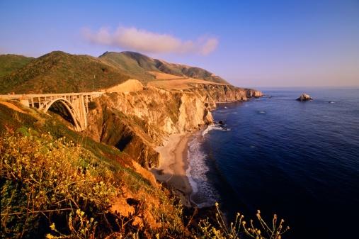 Bixby Creek Bridge「Big Sur coastline, California, USA」:スマホ壁紙(0)