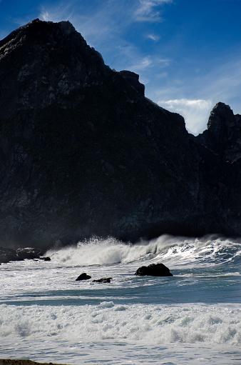 California State Route 1「Big Sur Coastal Waves」:スマホ壁紙(7)
