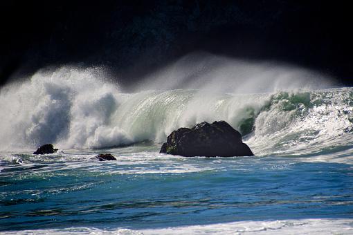 California State Route 1「Big Sur Coastal Waves」:スマホ壁紙(10)