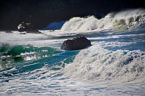 California State Route 1「Big Sur Coastal Waves」:スマホ壁紙(6)