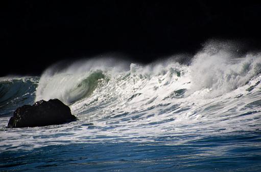 California State Route 1「Big Sur Coastal Waves」:スマホ壁紙(1)