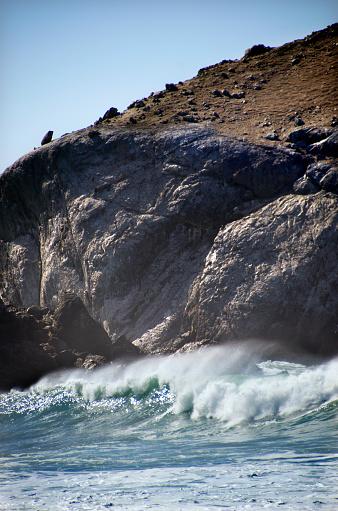 California State Route 1「Big Sur Coastal Waves」:スマホ壁紙(13)