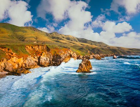 Big Sur「Big Sur Coast of California」:スマホ壁紙(1)