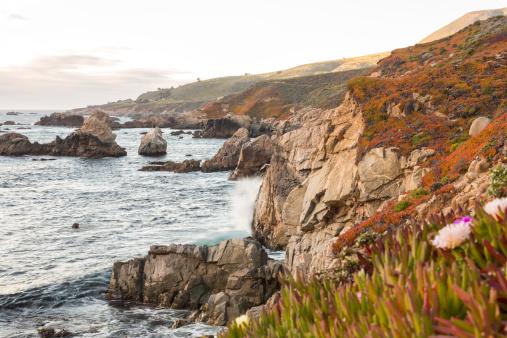 Big Sur「Big Sur coastline at sunset」:スマホ壁紙(4)