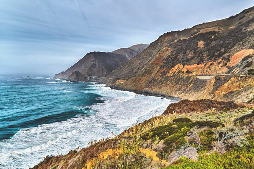 Big Sur「Big Sur Coastline along the Pacific Highway in California,USA」:スマホ壁紙(18)