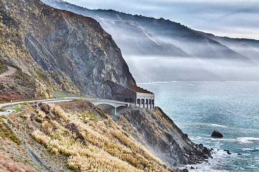 Big Sur「Big Sur Coastline along the Pacific Highway in California,USA」:スマホ壁紙(18)