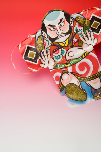戦国武将「Yaccodako kite, close-up」:スマホ壁紙(17)