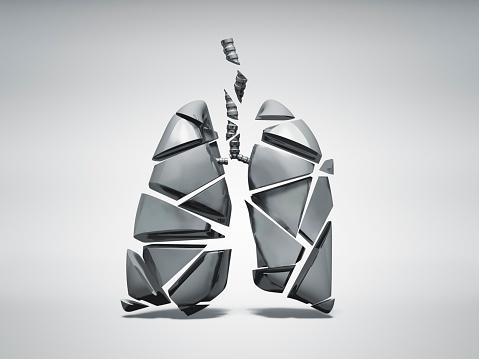 Figurine「Broken metal lung」:スマホ壁紙(4)