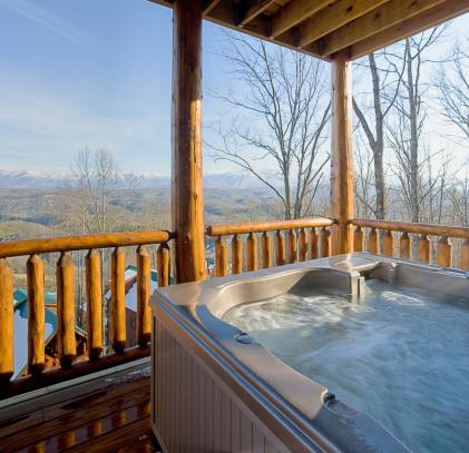 Freedom「Hot tub with snowy mountain view (XXL)」:スマホ壁紙(11)