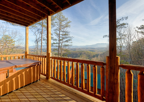 Great Smoky Mountains National Park「Hot tub with a view」:スマホ壁紙(19)