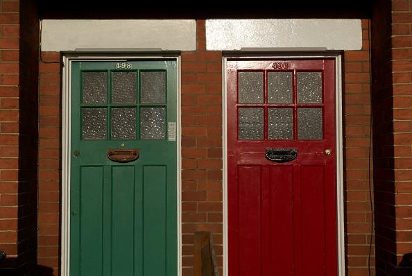 Neighbor「Edwardian style front doors, Ipswich, UK」:写真・画像(19)[壁紙.com]