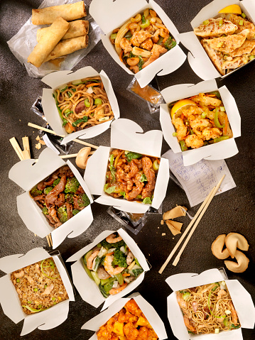 Convenience Food「Chinese Take Out」:スマホ壁紙(11)