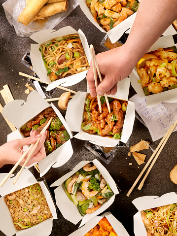 Asian Food「Chinese Take Out」:スマホ壁紙(2)