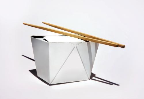 Chinese Food「Chinese takeaway box with chopsticks」:スマホ壁紙(11)