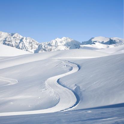 雪山「スノーイ山脈。」:スマホ壁紙(19)