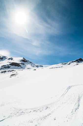 グルノーブル「Snowy mountain」:スマホ壁紙(12)