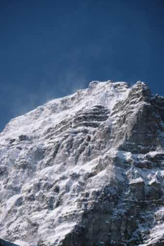 Yoho National Park「Snowy mountain peak」:スマホ壁紙(7)
