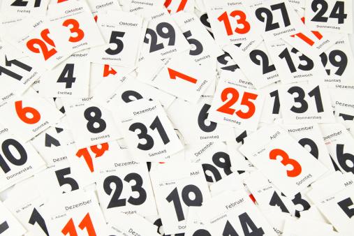 カレンダー「Calendar days」:スマホ壁紙(12)