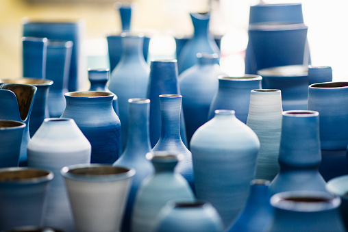 Mud「Blue pottery works in okinawa」:スマホ壁紙(8)