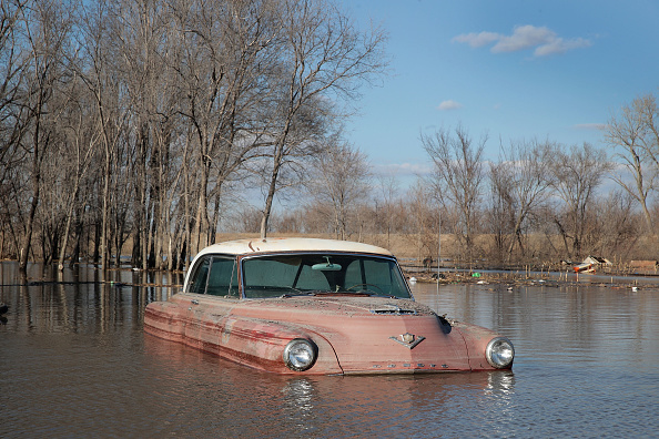 Scott Olson「Flooding Continues To Cause Devastation Across Midwest」:写真・画像(16)[壁紙.com]