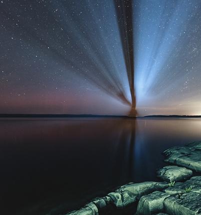 星空「北部の投影」:スマホ壁紙(4)