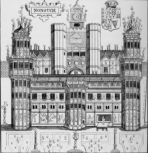 Elizabethan Style「Nonsuch House, London, c1845 (1904)」:写真・画像(5)[壁紙.com]