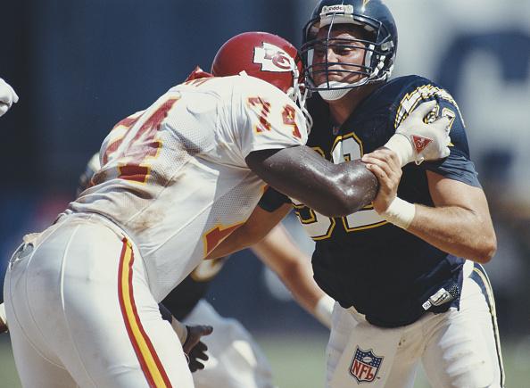 Defensive Lineman - American Football Player「Kansas City Chiefs vs San Diego Chargers」:写真・画像(4)[壁紙.com]