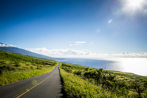 Hawaii Islands「Rocky shorline on Maui, Hawaii.」:スマホ壁紙(3)