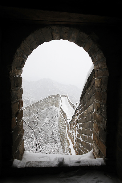 Frozen Water「China's Great Wall In Winter」:写真・画像(18)[壁紙.com]