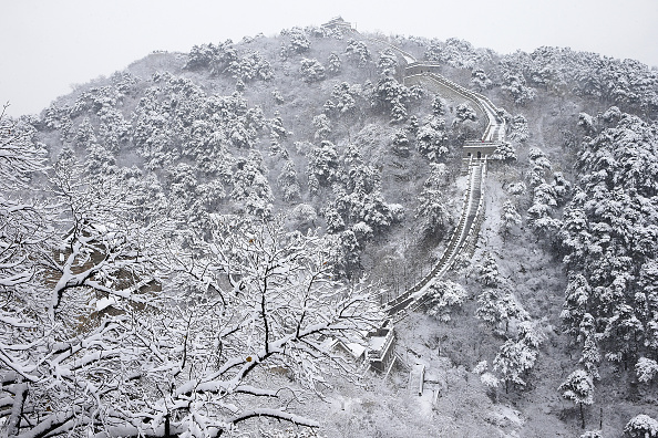 Frozen Water「China's Great Wall In Winter」:写真・画像(17)[壁紙.com]