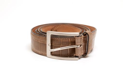 Belt「Brown crocodile leather belt」:スマホ壁紙(0)