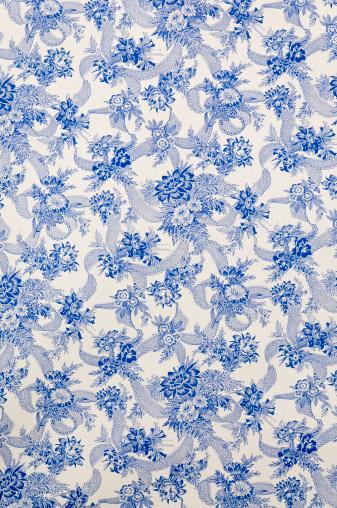 Floral Pattern「Danube Wide Antique Floral Fabric」:スマホ壁紙(17)