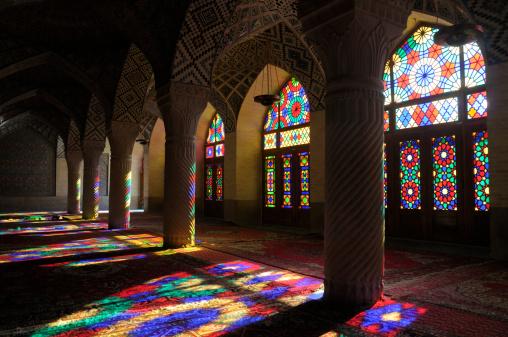 Iranian Culture「Nasir al-Mulk Mosque, Shiraz, Iran」:スマホ壁紙(11)